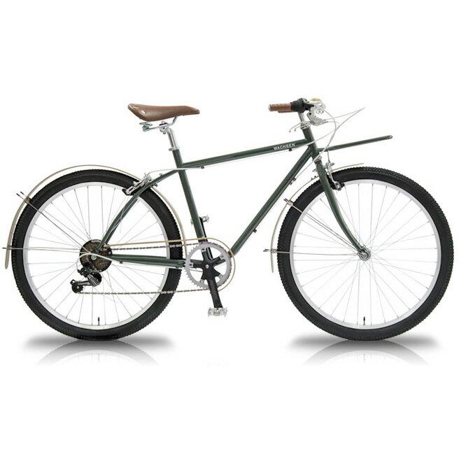 WBG-2602 26インチ カーゴバイク 6段変速 BANGO (バンゴ) WACHSEN [直送品]