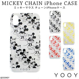 (宅配便専用)YOOY ディズニー チェーンミッキーiPhoneケース YY-D029 ミッキーマウス アコモデ Accommode【ポイント20倍】