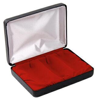 印鑑箱 個人 印鑑 ケースはんこケース個人用高級 化粧ケース[個人印鑑ケース3個収納タイプ] 宅配便発送