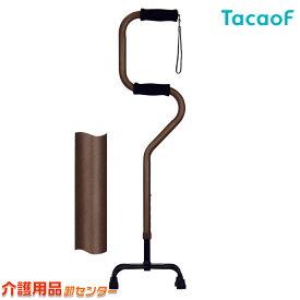 【幸和製作所(TacaoF)】らくらく4点杖 EA4-101 [多脚杖]