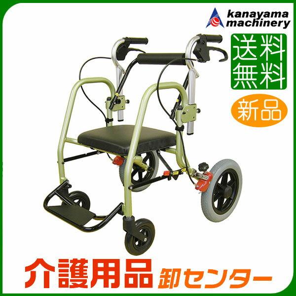 歩行器 【カナヤママシナリー 世代歩行器NOPPO ノッポ INB12_C シャンパンゴールド】【送料無料】