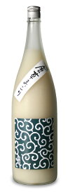 純国産 和まっこり 唐草まっこり 1800ml 1本 単品からくさまっこり マッコリ 酒 日本酒 純米酒 1.8 1.8L 1.8l 1,800 1,800ml