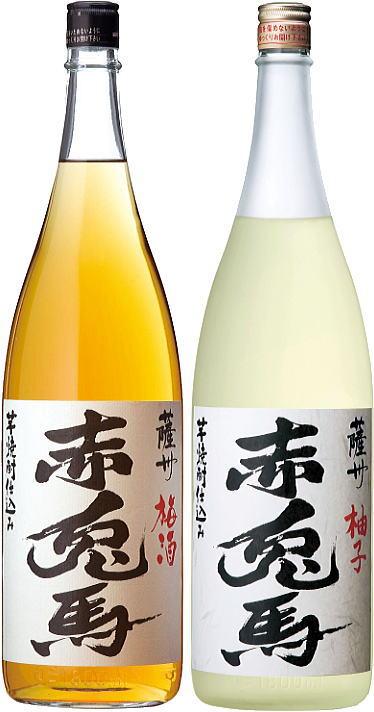 ★P10倍★3/21(木)20:00〜26(火)1:59 2酒(梅酒・柚子) 赤兎馬(せきとば)1800mlセット
