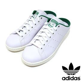 adidas originals (アディダス オリジナルス) Stan Smith Mules FX5849 スタンスミス ミュール ユニセックス GREEN/OFFWHITE メンズ レディース