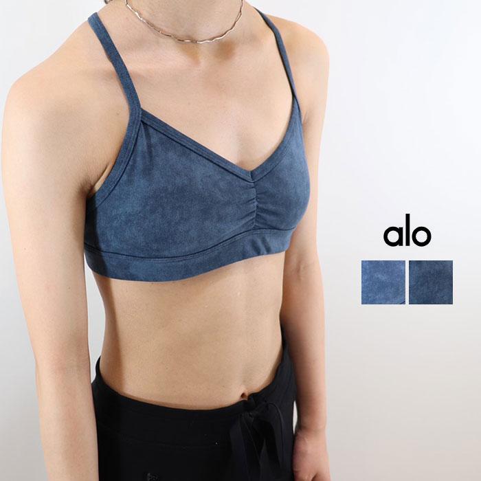 ALO YOGA(アロ ヨガ)ブラトップ SUNNY STRAPPY BRA  W9066R 日本未発売 アスレチック ジム トレーニング ランニング ヨガ yoga ピラティス