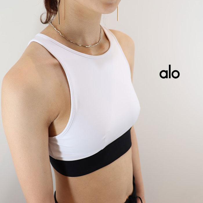 ALO YOGA(アロ ヨガ)ブラトップ INCLINE BRA W9162RG 日本未発売 アスレチック ジム トレーニング ランニング ヨガ yoga ピラティス
