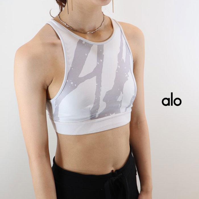 ALO YOGA(アロ ヨガ)ブラトップ INCLINE BRA W9162SR 日本未発売 アスレチック ジム トレーニング ランニング ヨガ yoga ピラティス