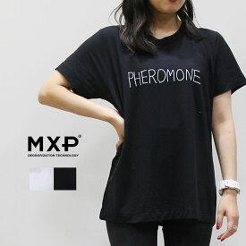 MXP(エム エックス ピー) Tシャツ NV S/S CREW(FINE) MW16102C レディース トレーニング ランニング ジム ウェア 消臭