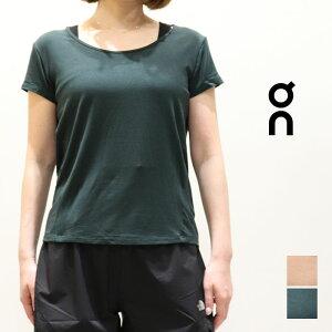 ON (オン) ウィメンズTシャツ  ACTIVE-T BREATHE W 232.00171/232.00172 ランニング シューズ 軽量 トレーニング マラソン ウェア begin running ヨガ