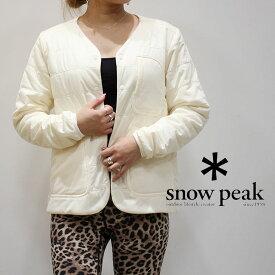 snow peak スノーピーク フレキシブルインサレーションカーディガン(ウィメンズ) 18AU01000