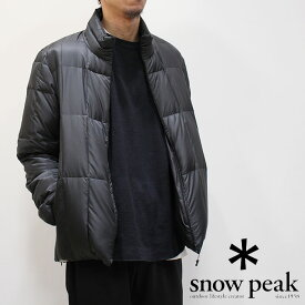 snow peak スノーピーク ミドルダウンジャケット(メンズ) 18AU10903