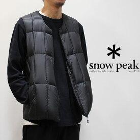 snow peak スノーピーク ミドルダウンベスト(メンズ) 18AU11003