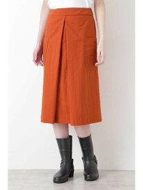 【SALE/57%OFF】パッカブル撥水スカート HUMAN WOMAN ヒューマン ウーマン スカート スカートその他 オレンジ グレー【RBA_E】【送料無料】[Rakuten Fashion]