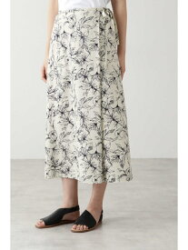 【SALE/57%OFF】アートワークプリントスカート HUMAN WOMAN ヒューマン ウーマン スカート スカートその他【RBA_E】【送料無料】[Rakuten Fashion]