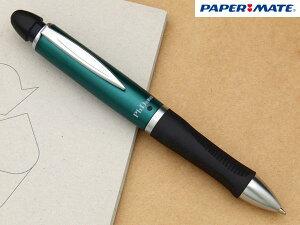 【PAPERMATE/ペーパーメイト】アメリカ筆記具ブランドマルチペンボールペン(油性・黒)&0.5mmペンシル&スタイラスペンの機能を1つに!エルゴノミック3角グリップ切り替え/回転式シャーペン/ノック式消しゴム内蔵ボディカラー:ホワイト