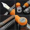The latest! Dolce Vita skeleton fountain pen フュージョンニブ world limited 888 spectacular artistic model!