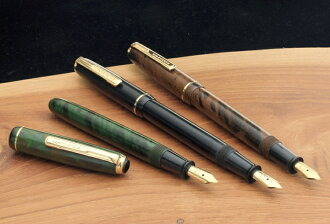C special limited edition models ebonite Mannen writing Supreme finish of the fountain pen produced a fountain pen artisan brush eye drop India latunamu Mr. polite