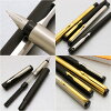 Vector / vector Japan not released! Fountain pen gold / silver matte black CT / matte black GT hard durability and simple design