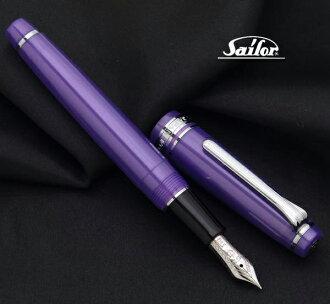 限定彩色型号!专业的齿轮纤细钢笔紫/紫色14钱/M(字)