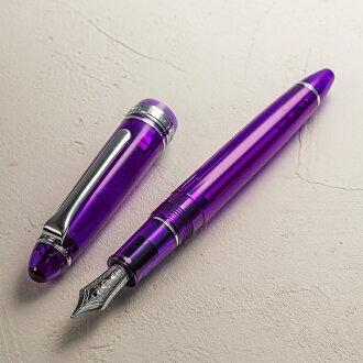 """14钱钢笔透明利润""""哭泣紫藤""""高贵、有神秘的形象的淡薄的淡紫色11-1029"""