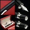 杰作 !达 · 芬奇钢笔专利黑银 925 米/14 货币供应量钢笔采取 !