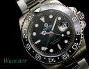 【1725】【WANCHER/ワンチャー】/ 腕時計 ワンチャー ウオッチエクストリーム 機械式/自動巻き 特別限定モデル24時間計 GMT機能搭載 31…