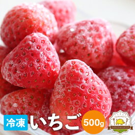 冷凍いちご 500g!熊本県の宇城市から摘みたての新鮮な苺を冷凍しました!!ご家庭向け 加工用としてご利用ください!三角町から農家さん直送!いちご専門農家さんの自慢のイチゴをお試しください。