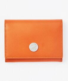 24200LCD ルシード [カードケース] オレンジ レザー 男女兼用