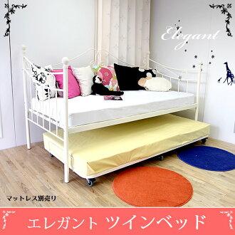 huonest  라쿠텐 일본: 우아한 더블 침대 (매트 별매) 친자 침대 ...