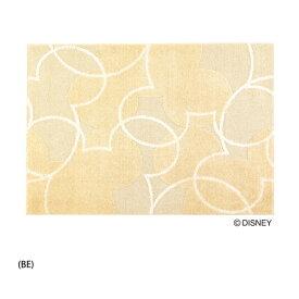 ミッキーパールラインラグ Disney Mickey Pearl Line rug DRM-1004 140×200cm (送料無料) (代引不可)日本製 防ダニ加工、耐熱加工 F☆☆☆☆ RUG ディズニープレミアムコレクション ラグマット カーペット 絨毯 じゅうたん 新生活 引越