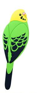 マグネットフック セキセイインコ グリーン しっぽ 小物掛け 鍵フック 磁石 フック MAGNET HOOK マグネット フック かわいい マグネットフック おしゃれ アニマル 鳥