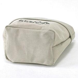 FESTAHOMEストレージラウンドボックスベージュMサイズ取っ手付マチありポーチ手提げバッグ小物入れファブリック布製アウトドアSPICE