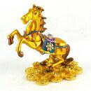 ラインストーン「金運の馬」(Gタイプ)