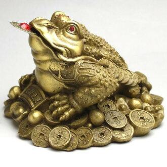 風水學三腳架青蛙大青蛙俑銅
