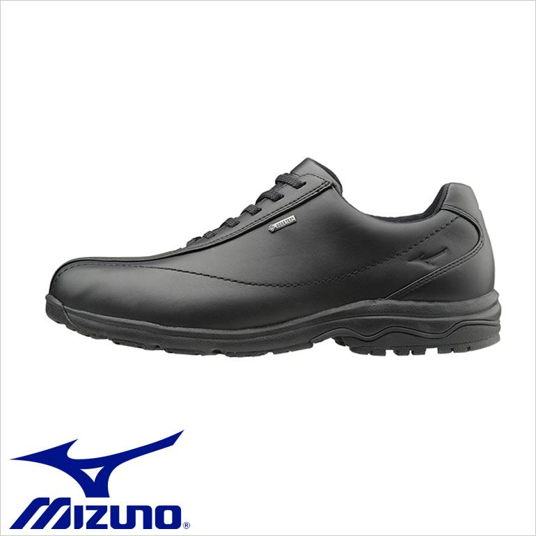 ミズノ靴 MIZUNOウォーキングシューズ MIZUNO 紳士靴 メンズ 男性用/B1GC1716 [ミズノ MIZUNO ウォーキングシューズ ブラック 黒 シューズ 靴 B1GC171609 メンズ 男性 本革 革 革靴 歩きやすい 4E ビジネス ビジネスウォーキング 防水 耐久性]