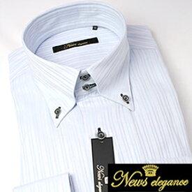 【あす楽】ボタンダウンカラー 長袖ワイシャツ ビジネス フォーマル カジュアルに最適! メンズ 長袖 ワイシャツ Yシャツ [ワイドカラー][ボタンダウン][スナップボタン][クレリック][ドレスシャツ][オーダーシャツ] 多数取り扱い! カラーシャツ シャツ