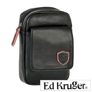 ED KURUGER エドクルーガー MITT ミット ベルトポーチ 縦 ブラック お洒落なメンズのための一品♪大人気 ビジネスバッグ メンズ 紳士用 カバン かばん ビジネス 鞄 バッグ
