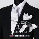 ネクタイ 結婚式 【 フォーマル 小物3点セット+α 】 結婚式 ネクタイ チーフ タイピン 3点セット ポケットチーフ ネ…