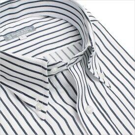 ボタンダウン 長袖ワイシャツ メンズ 長袖 ワイシャツ Yシャツ 形態安定ビジネス 結婚式 黒 ネイビー ボタンダウン ストライプ 大きいサイズ 制服 出張 通勤 カッターシャツ ドレスシャツ 秋 冬 S M L LL 3L ユニフォーム あす楽