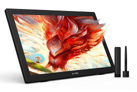 Artist 24 XP-Pen 液晶ペンタブレット 液タブ 23.8インチ 大画面 QHD 解像度 127%sRGB 充電不要ペン お絵かきソフトウェア付き