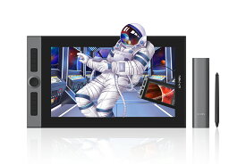 XP-Pen 液タブ Artist Pro 16 15.4インチ 9mm厚さ 133%sRGB フルラミネート加工 ショートカットキー8個 X3チップ搭載スタイラスペン 液晶ペンタブレット 2021年モデル