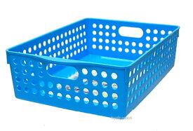 イノマタ化学 ストックバスケットB5 ブルー