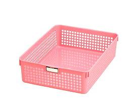 イノマタ化学 ネームバスケット A4 ピンク