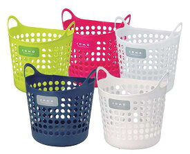 イノマタ化学 コモバスケットMサイズ 【あす楽対応_関東】洗濯カゴ収納 バスケット