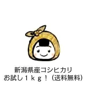 【 白米1kgお試しパック 】新潟県産 コシヒカリ 送料無料 ※ 当店は 玄米 30kg 等多数ご用意しております!米30kg 送料無料 コシヒカリ 30kg 送料無料