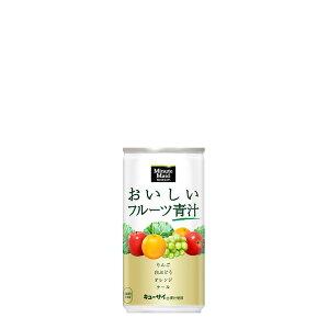 ミニッツメイドおいしいフルーツ青汁 190g缶×30本入