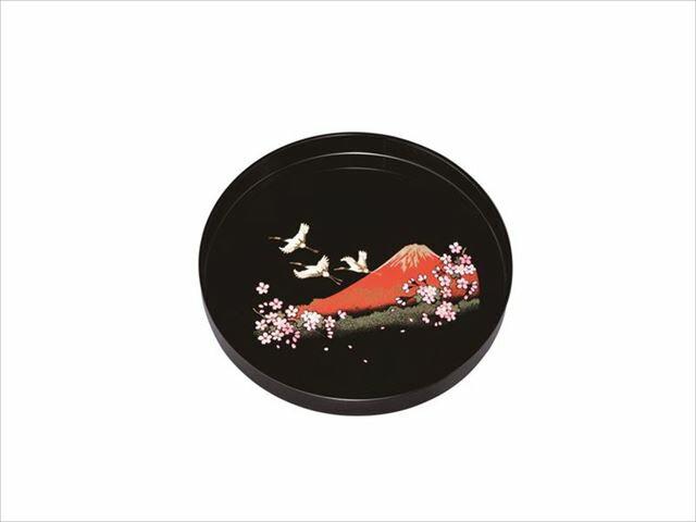 8.0丸盆 一富士二鶴三桜