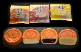 砺波の河合菓子舗「となみのチューリップ 20個入」 人気の富山銘菓