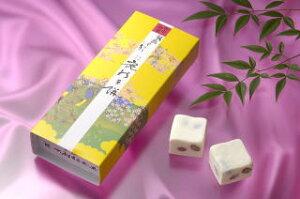 富山銘菓 鹿の子餅(かのこもち)10個入り/淡雪のような口どけ、上品な甘さ