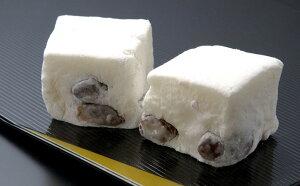 富山銘菓 鹿の子餅(かのこもち)25個入り/淡雪のような口どけ、上品な甘さ